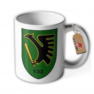 Tasse PzGrenBtl 132 Bundeswehr Tee Kaffee Panzer Grenadier Bataillon #36659