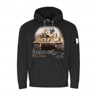 Lukas Wirp sPzAbt 502 Tiger Carius Panzer Gemälde Kapuzenpullover Hoodie #23409