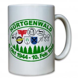 Hürtgenwald 6 Oktober 1944 10 Februar 1945 Deutschland Wk - Tasse #8030