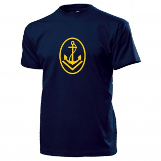 Obermaat Abzeichen Bootsmann Rangabzeichen Marine NVA DDR Anker - T Shirt #17487