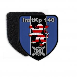 Patch InstKp 140 Instandsetzungskompanie Bundeswehr Abzeichen Wappen Inst #23347