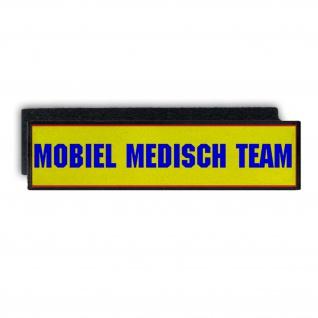 Patch Mobiel Medisch Team Emergency Medical Services Netherlands 28x7cm #33683