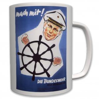 Militär Marine Bundesmarine Freiwilligen Bundeswehr Deutschland - Tasse #6442