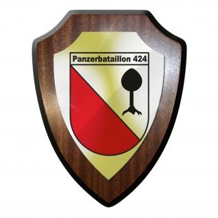 Wappenschild / Wandschild / Wappen - PanzerBataillon 424 Leopard #9226