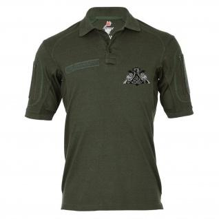 Tactical Poloshirt Alfa - Wikinger Raben Hugin und Munin Thors Hammer #18980