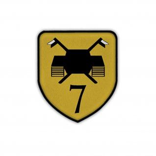 Patch / Aufnäher Panzeraufklärungsbataillon 7 PzAufklBtl BW Wappen #19732