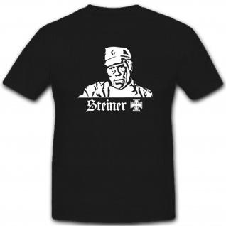 Steiner Eiserne Kreuz Film Kino WK Deutschland- T Shirt #3694