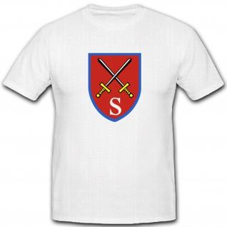 Stabsschule Des Heeres Wappen Abzeichen Bundeswehr Einheit WH WK Emblem - T Shirt #2170