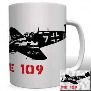 Me 109 Flugzeug Deutschland Luftwaffe Wk Messerschmitt Tasse #16697