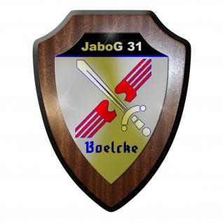 Wappenschild / Wandschild / - Jagdbombergeschwader 31 Boelcke Bundeswehr #8368
