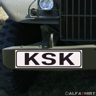 Magnetschild KSK Kommando Spezialkräfte für KFZ Fahrzeuge #A181
