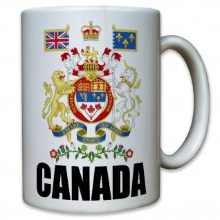 CANADA Kanada Wappen Abzeichen Heimat Emblem Sammler - Tasse #10391 T