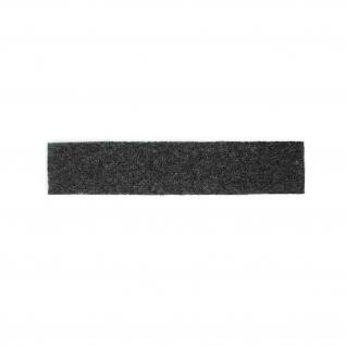 Flausch NAMENS-SCHILD Patch 2, 5 x 12, 5cm schwarz Gegenstück Aufnahme BW#32350
