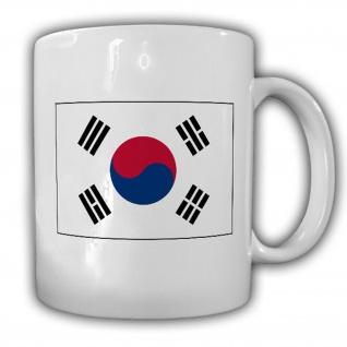 Südkorea Fahne Flagge Republik Korea Daehan Minguk - Tasse #13660