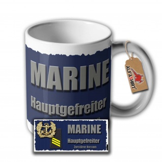 Tasse Zerstörer Hessen Klasse 101 A Hamburg Klasse Kriegsschiff Tee #33340