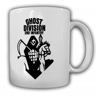 Ghost Division 2nd Infantry Becher Militär Abzeichen Emblem - Tasse #27130