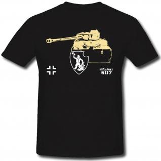 Spzabt Panzer WH Tiger Abteilung Militär Heer - T Shirt #1304