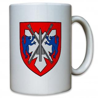 FlaRakBtl 610 Flugabwehrraketenbataillon Wappen Bundeswehr - Kaffee Tasse #13069