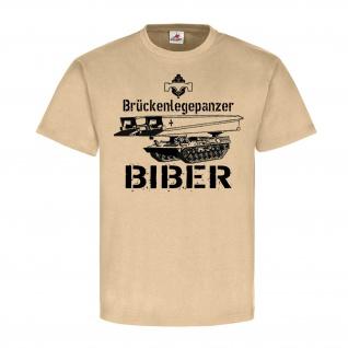 Brückenlegepanzer Biber Bundeswehr Panzer Panzerschnellbrücke - T Shirt #25681