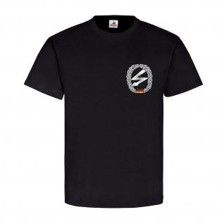 Fernmelder Barettabzeichen Brust Einheit Militär BW Abzeichen - T Shirt #16849