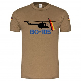 BW Tropen BO 105 Hubschrauber original BW Tropenshirt nach TL #14944