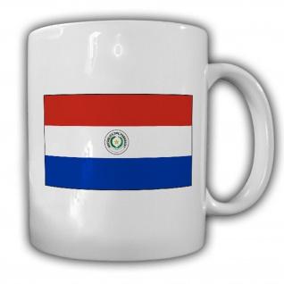 Republik Paraguay Fahne Flagge Kaffee Becher Tasse #13857