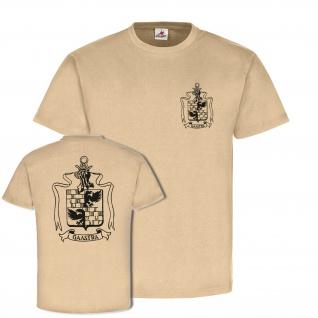 Familien Wappen Gaastra Siegel Logo Wappen vorfahren Stammbaum T Shirt #23211