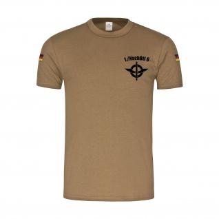1 NaschubBtl 6 LKW 7t mil gl Nachschub NschBtl Bundeswehr T-Shirt BW.#31662