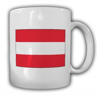 Republik Österreich Fahne Flagge Kaffee Becher Tasse #13842