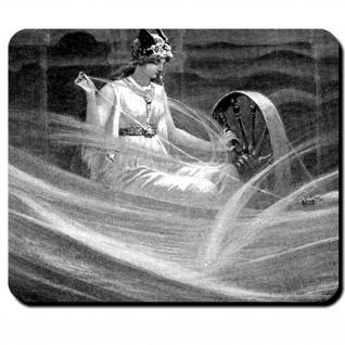 Frigg Darstellung Frigg John Charles Dollman 1851-1934 Gehmalin Mauspad #16096