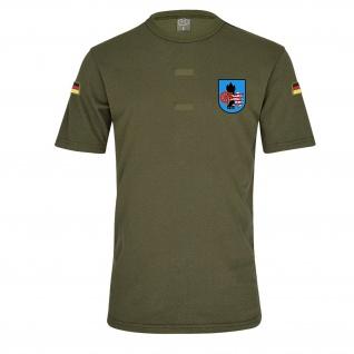 Olives BW Tropen mit Klett Nachschubkompanie 140 NschKp BW Wappen #26049