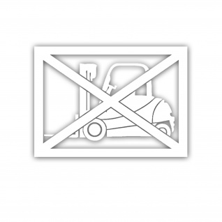 Aufkleber Gabelstapler Flurförder Fahrzeug Transpport Stapler 18x13cm #A5474