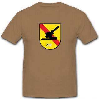 Feldartilleriebataillon Militär Bundeswehr Heer Wappen Abzeichen - T Shirt #4819