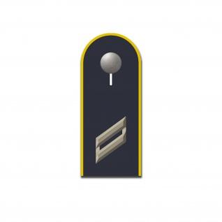 Aufkleber Obergefreiter Schulterklappe Bundeswehr Dienstgrad 10x4cm#A5414
