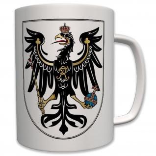 Preußen Adler alt Wk Wh Wappen Abzeichen Emblem- Tasse Becher Kaffee #7391