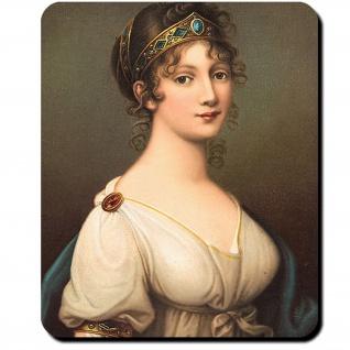 Luise Prinzessin Mecklenburg Preußen Königin Ölgemäde Josef Maria Mauspad #16397