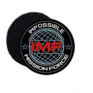 Patch IMF Mission Einheit Fiktiv Blockbuster Hollywood Ethan Hunt #31736