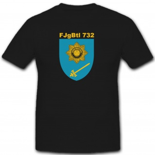 FJgBtl 732 Feldjägerbataillon Feldjäger Bundeswehr Deutschland - T Shirt #7447