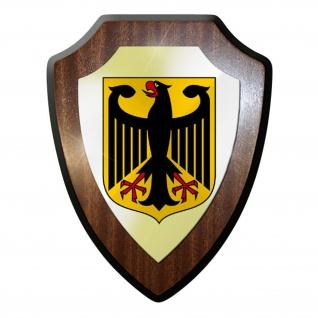 Wappenschild / Wandschild / Wappen - Deutschland Adler Bundeswappen #10156 t