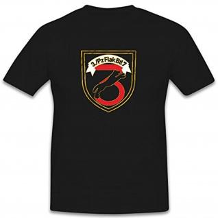 3FlaRakBtl7 Bundeswehr Wappen Abzeichen Deutschland Flugabwehr - T Shirt #9145
