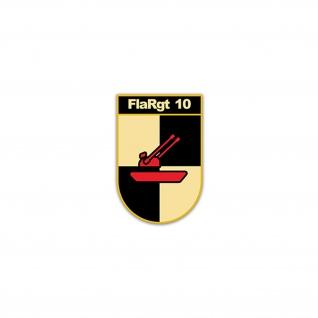 Aufkleber/Sticker FlaRgt 10 Flugabwehrregiment Flugabwehr BW Heer 5x7cm#A2239