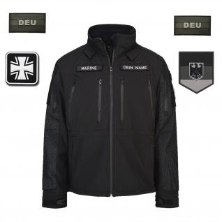 Veteranen Tactical Softshell-Jacke BW Heer Luftwaffe Marine Bundeswehr #32488
