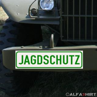 Magnetschild Jagdschutz Jäger Jagd Weimahei für KFZ Fahrzeuge Kübel Iltis A156