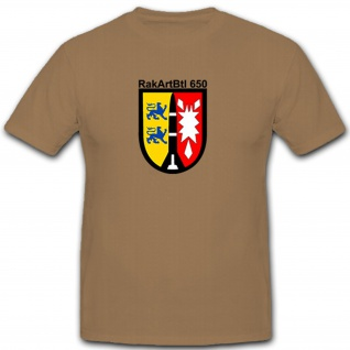 RakArtBt650 Bundeswehr Militär Wappen Abzeichen Raketen - T Shirt #8145