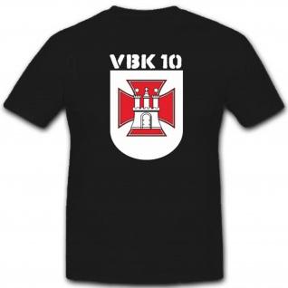 Verteidigungsbezirkskommando 10 Hamburg Vbk10 Bundeswehr - T Shirt #3472