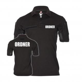 Tactical Ordner Poloshirt Alfa Regeln Sicherheit Dienst Parkplatz #30156