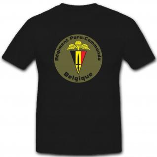Para-Commando-Brigade Belgische Fallschirmjäger Heer - T Shirt #8032