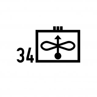 Taktisches Zeichen JaboG 33 Aufkleber ZDv 1-11 Militär 26x15cm#A5612