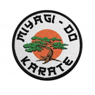 Patch Miyagi Do Karate Kid Dojo Aufnäher Kampf-Sport Retro 80er Kult #36914