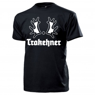 Trakehner Trakehnen Wappen Abzeichen Ostpreußen Brandzeichen - T Shirt #14090